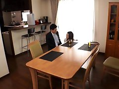 Japanese teen Renon creampied by coworker