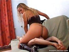 Pussylingus Lick Svetlana Clean Slave!