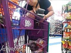 Thickcandids - 99 cent Store Mix 1 BBWs, Mature, Big ASSES