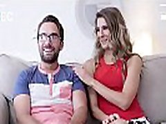 Single MILF met a nerd on a dating site and sucked him