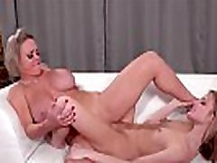 Milf and maid hot and sexy pussy tribbing in the office