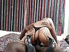 Sissy Slut Creampied by Young Black Stud