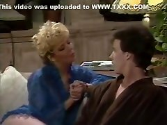 Karen Summers and Tom Byron bondage device classic porn