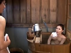Big Tit Asian milf Sophia Takigawa in hot bath sex on hagel xxx cam