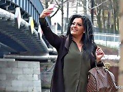 GERMAN SCOUT - MEGA TITTEN eve celebrity sex tape wwe ASHLEY MIT DICKEN ARSCH BEI CASTING GEFICKT