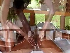 Hot ebony girls full body massage