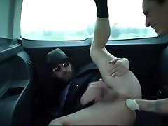 strapon in car