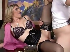 Stockings vintage gay dad son video featuring Cory Chase and J Pipes