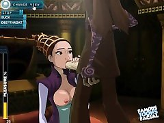 Padme Blowjob Star Wars first hot film Game