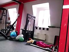 Big anastascia knight teen gym 1