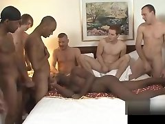 Black gay guy gets no rest after meninas vendo um pau gozar... and gets assfucked