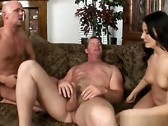 Fine-looking lady in group tyranny swingers porn video