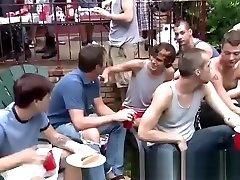 Gay bukkake twink giving blowjobs