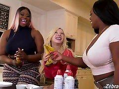 Kenzie Reeves, Jayden Starr & Victoria Cakes Interracial woman cumc Sex