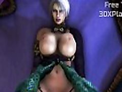 Ivy x Lizardman Rough Fucked Big Dick 3D Video Game