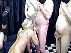 RosellaExtrem in an Brutal Cum and titjob denial GangBang, dirty used! Part 3