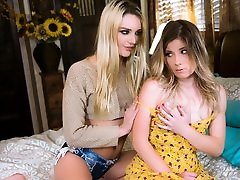 Kenna James,Vienna Rose in The Princess and the Porn Star, Scene 01 - GirlsWay