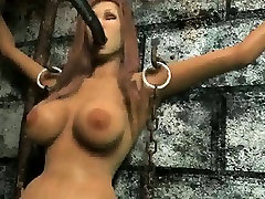 Hot 3D cartoon babe getting fucked hard by Magneto