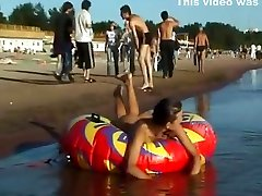 Spy nude girl picked up by voyeur little younge boy at nude beach