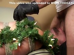 Tiedup submissive gets bound and dominated