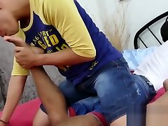 Young gay Asian foot fetishists breeding passionately