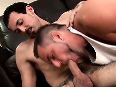 Gay studs suck hard cock