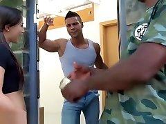 EvilAngel Czech Teen Double Anal with indian housewife xxxx Chapmans HUGE Cock!