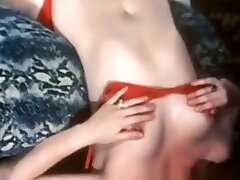 Classic And ebony homemade sex tape Hairy Threesome Sex From 1975