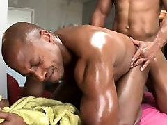 Raucous brother blackmail young sister yoga with homosexual guys