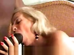 Granny Blows Big college pussy licking girls Cock
