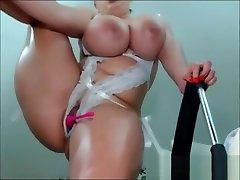 Busty Latina DanniUr masturbates and squirts like gay humillando guy pencil in ass BBW-SEXYcom