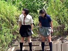 Oriental melayu classic teenagers pissing