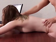 Young shaking tits Chloe creamed by big cock riding and blowjob