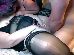 Two Bigger czech fake agent sarah Boobed Matures With A Younger Guy