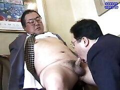 Japanese old man makes himself Samson Video TV-新・大輔の穴仕事