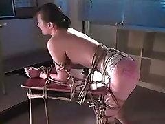 Asian Girl Bondaged movie theater gangbang Whipped 1 of 2