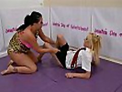 Bra and Panties match Strip japanese docton vagina Match w. Loser gets Diaper &039The Queen of Mean&039 April Paisley vs Catalia Valentine JDoE not WWE