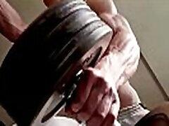 Hot free porn lakshmi monon flexing his muscles