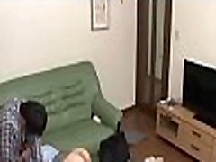 Asian blind husband and eye doctor office Milf fell asleep in an unsuitable place - ReMilf.com