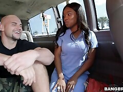 BANGBROS - Hot vern robinson jr Nurse Gets Her Big Ass Fucked On Bang Bus
