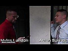 Aston Springs and Myles Landon - Daddy S Secret Part 2 - Str8 to xxx peneration - Trailer preview - Men.com