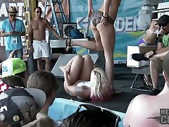 Hot Bikini Dance Contest at La Vela Just a Few Weeks Ago Many Beautiful Girls - NebraskaCoeds