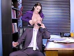 Brazzers - Angela dakota skye gang bang4 - Big Tits at Work - more at PornWebCamZ.com