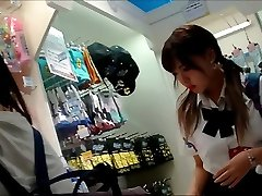 UPSKIRT TEEN JAPANESE SCHOOL GIRLS JK逆さパンチラ盗撮