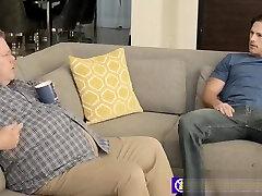 PORN STAR Roman Todd breeds Allen Lucas behind his daddy