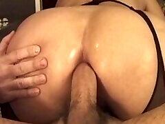 Horny jangal main rep kiya babe in her first anal amareur guy sex by milf adventure!