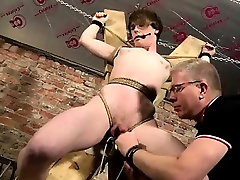 Gay clip of Another Sensitive Cock Drained