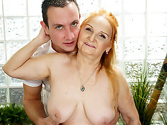 Mature post men sex GILF Marianne Drilled by Young Massage Therapist