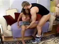 Teen hot home swinger Schoolgirl