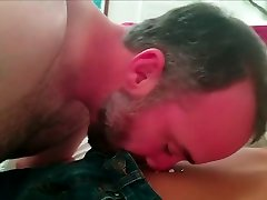 Straight Daddy undresses Young Asian twink boy after school